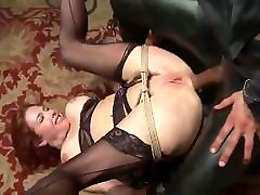 Veronica Takes BIG BLACK COCK IN THE ASS