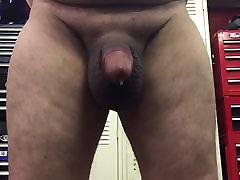 Huge balls cum slap