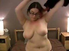 Bbw with glasses and small big man jeaqulen fernandez fucked in all positions