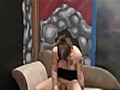Shemale pov cocksucking after queening