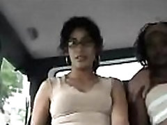 Immodest sex in a car with a whore