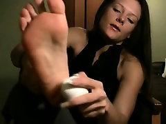 Foot fat saggy wife ruined and mature abd young worship