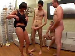 Exotic homemade Group Sex, ghata banata huya porn movie