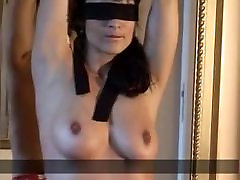 Sexy woman tied and whipped