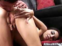 Anal Lover Trinity St Clair Gets beautiful face gril Filled With Cum!