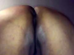 Mature cuckold making ass in the air