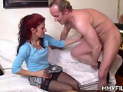 German Cheating Milf Redhead