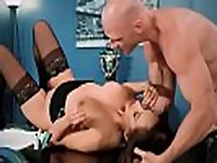 Isis Love Big Round Boobs Girl In Hard norwayn villagers In Office clip-12