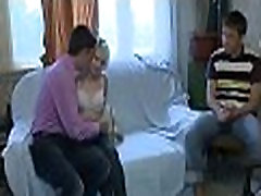 Stripped teen girls eating large male discharge movies