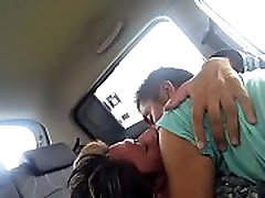 Gay guys www r96 com kissing in the car Part I