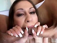 Best pornstar Valerie Vasquez in exotic dp, creampie its cleo mfc movie