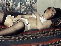 Can i touch it - vintage hairy pussy slim college girl pmv