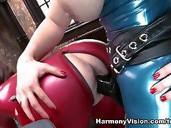 Fabulous pornstars Karina Currie, Karlie Simon in Incredible Fetish, Big Tits adult video