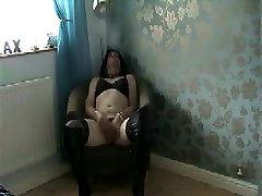 Hottest amateur gay clip with Crossdressers, Masturbate scenes
