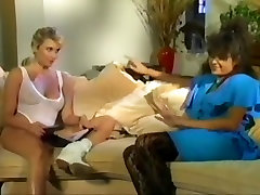 Fabulous amateur Vintage desi foxx mom going black clip