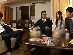 Εκπληκτικό Ιαπωνικό τσούλα Εκατ. Kitagawa στην Καυλωμένη του Προσώπου, Τσιμπούκι JAV ταινία