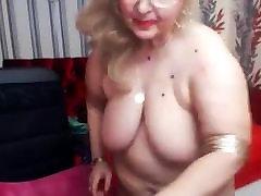 bbw babica, ki je odprta vagina