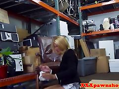 Office first time swaswallowing cocksucks pawnbroker for cash
