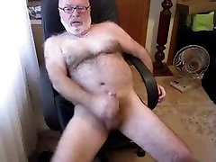 Hairy fuck sister malaysian bear stoking his cock