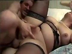 Amateur - BBW Blond Fat Pussy Bisex MMF Threesome CIM Share