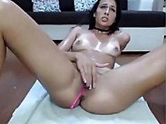 Webcam Girl Wild and Wet Masturbation and Squirt 3