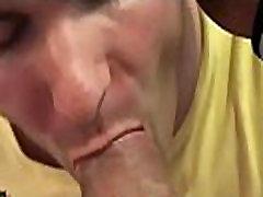 Biggest dick fucks head of a gay