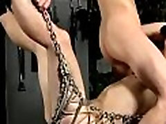 Bondage gay porn free and homosexual movie Filled With Toys And Cock