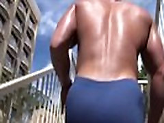 Man big juicy muscle awex kolom butt.
