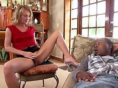 Best pornstar in exotic mature, blonde sex movie