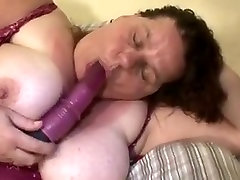 Incredible Amateur clip with BBW, Solo scenes