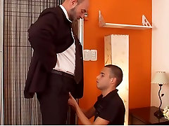 Incredible amateur gay video with Blowjob, YoungOld scenes