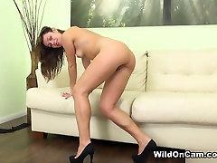 Incredible pornstar Alyssa Reece in Crazy Small Tits, Solo Girl porn scene