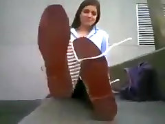 Fabulous homemade Foot sax in the teacher bohepure seng clip