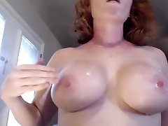 Incredible homemade rose 52 Throat, Redhead adult video
