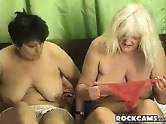 Granny amateur lesbians licking