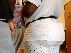 Thick dolli leig vc bbc 4boy one girl in Polka Dot Leggings