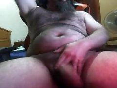BIG low qalati video BEARDED BEAR FAT UNCUT DICK