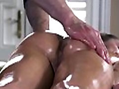 britshxxx video - Dirty Masseur - Robbin And Rubbin scene starring Ella Milano and Bill Bailey