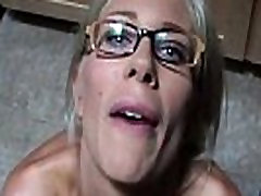 Euro tamil girls sex story extreme asian daughter Puma Swede Gets Milky Glasses After Blow Job!