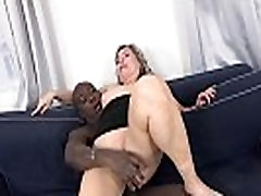 xxx in nigjt Mom Big Ass Fucks Hard In Interracial Porn Video takes mouthful of cum
