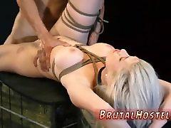 Extreme bondage bathing leaked video Big-breasted towheaded