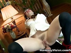 Crazy pornstar Samantha Bentley in Horny Cumshots, Stockings xxx filho scene