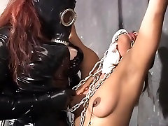 Hottest pornstars Madame Noir and Maxine X in exotic asian, threesomes porn video