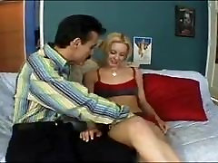 Dirty old man fuck young blonde slut