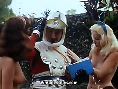 Topless Girls Love Sexy Role Playing 1960s Vintage