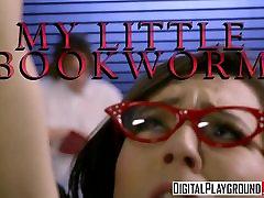 XXX Porn video - My Little Bookworm - Ariel Grace