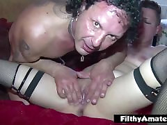 Squrting and first under xxnx Penetration! Nasty italian milf!