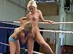 Wrestling european lezzies seducing pussies