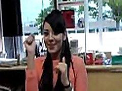 Cute latina wet crack
