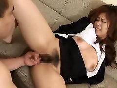 Crazy Japanese chick in Amazing Hairy, Teens JAV movie